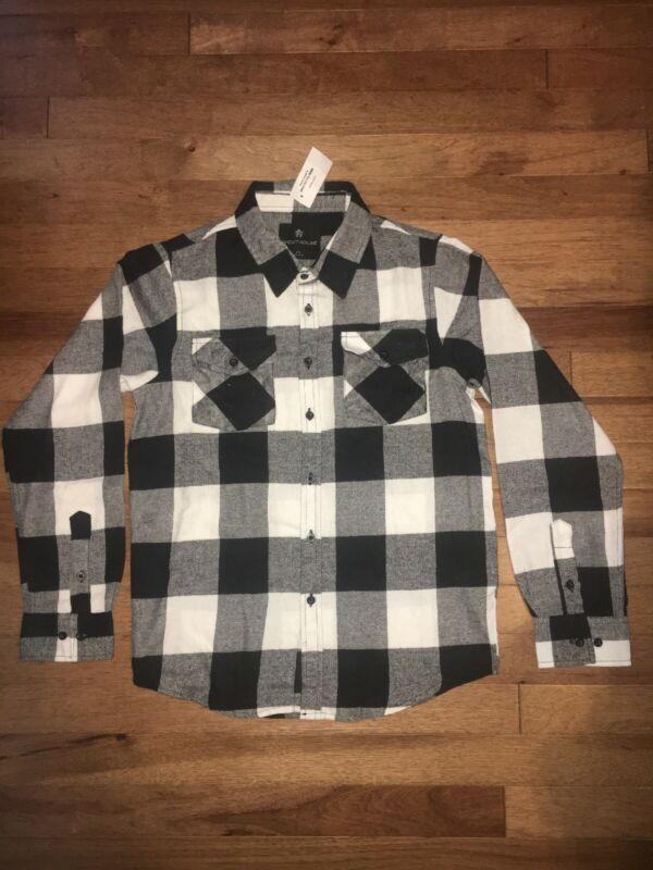 Brand New Shouthouse Youth Flannel Size M