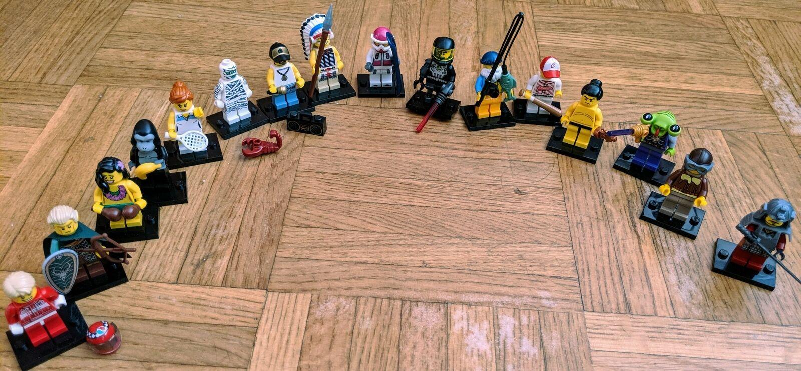 LEGO MINIFIGURES SERIE 3 COMPLETA-FULL 3 SERIES (16 MINIFIGS) 8803