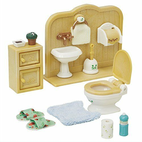 Sylvanian Families Furniture Toilet Set Ka-606 Epoch from Japan*
