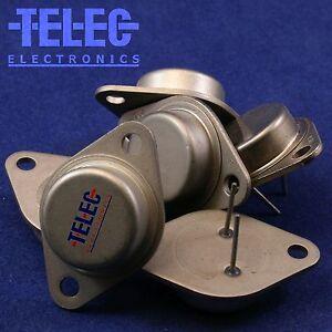2 PCS 2N3505 PNP Silicium Low Power LF Transistor CS = TO18