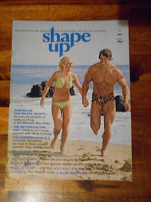 Arnold Schwarzenegger Shape Up Cover Repro POSTER