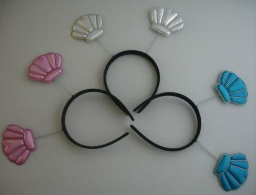 Metallic Sequin Bandeau Boppers couronnes butterflys Mermaids coeurs étoiles obus