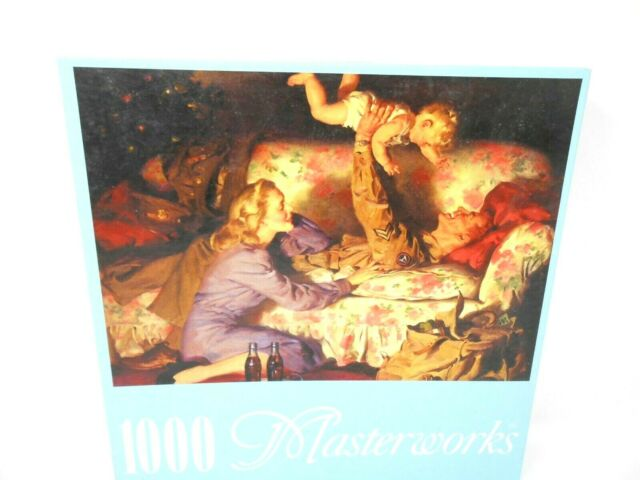 Coca Cola Masterworks Home From the War 1000 Piece Jigsaw Puzzle