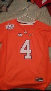 DeShaun Watson Clemson Tigers #4 Orange Adult XL Nike Jersey Sewn ...
