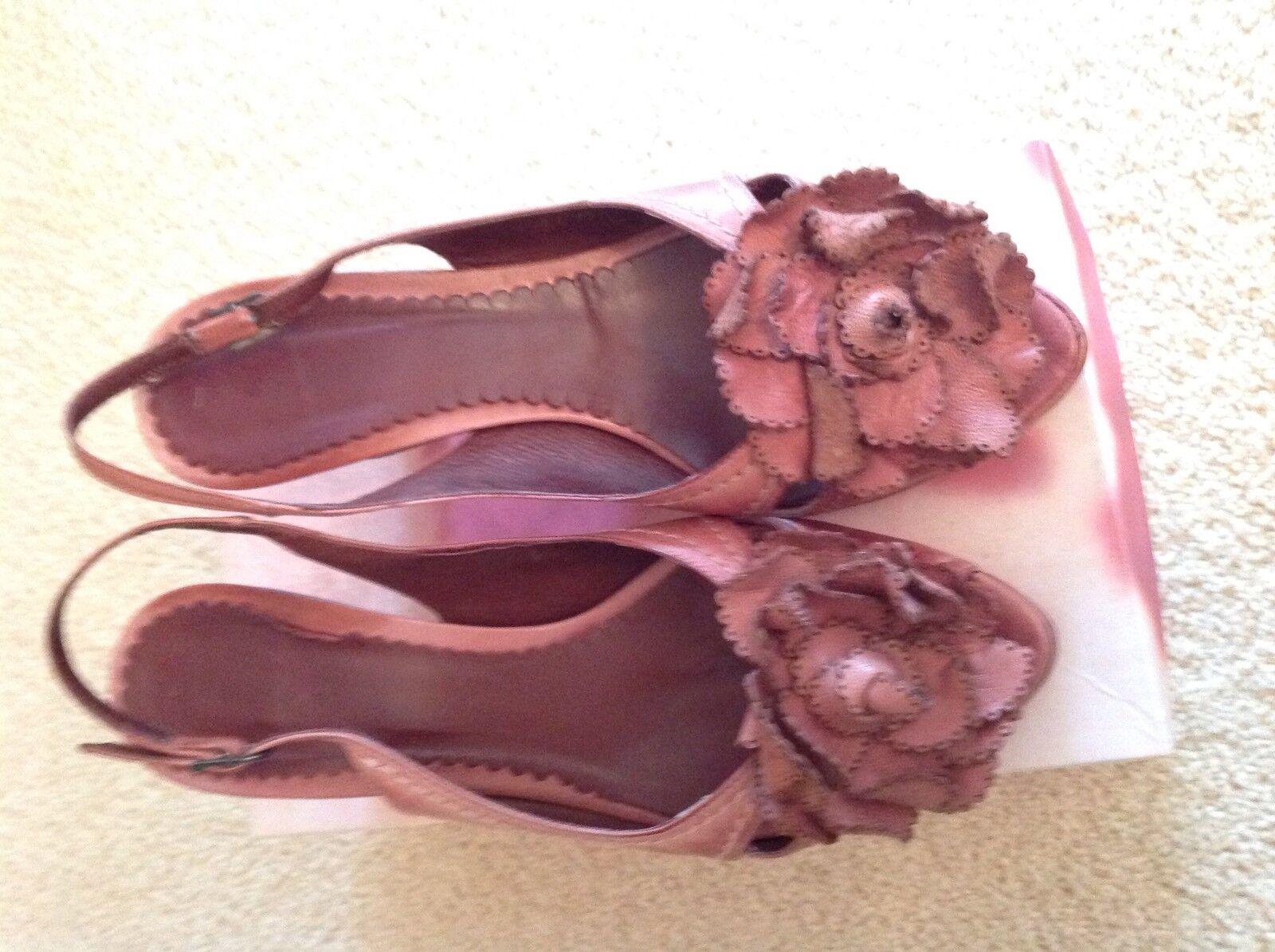 Vintage Jigsaw Heels bluesh pink Sandals