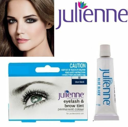 Julienne Professional Intensive Eyelash & Eyebrow Dye Tint Lash Kit ...
