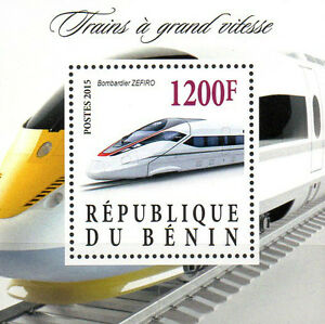 Benin-Block-Hochgeschwindigkeitszug-BOMBARDIER-ZEFIRO