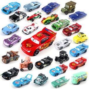 All Series Lightning McQueen Mattel Disney Pixar Cars 1:55 Diecast Model Car Toy