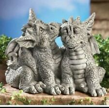 concrete mold latex n  fiberglass loving couple dragons NEW MOLD