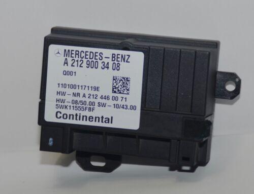 Steuergerät Mercedes W204 W218 Kraftstoffpumpe A2129003408 A2124460071 Original