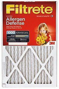 6 FILTERS (3X2pks) 20x25x1, Filtrete Air Filter, MERV 11, by 3m 166275 x3