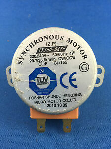 Image Is Loading Panasonic Microwave Oven Turntable Motor Tyj50 8a7f Nnst557w