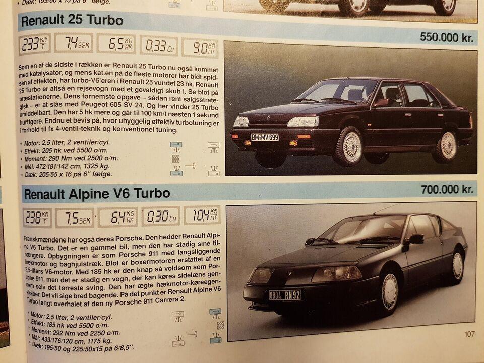 Renault 25, 2,9 V6 TX aut., Benzin
