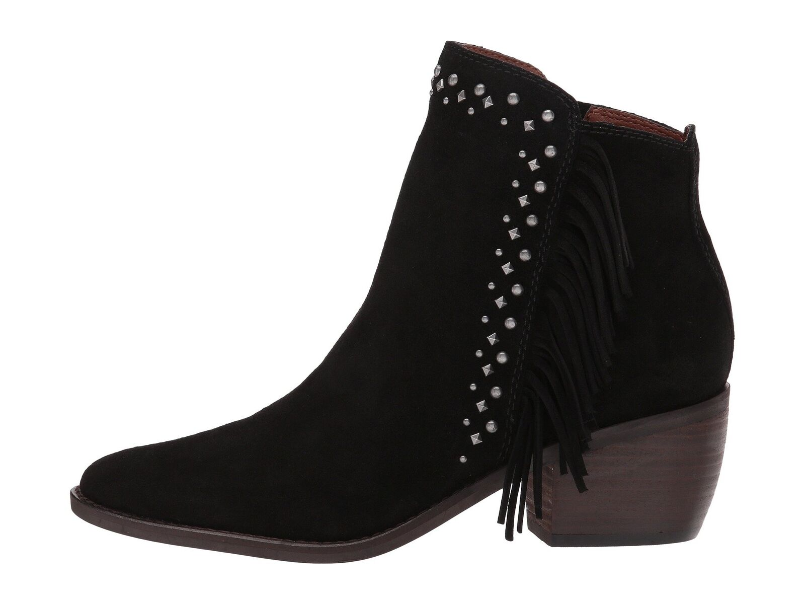 Lucky Women's LK-KAARFINA Fashion Boot BLACK OIL SUEDE