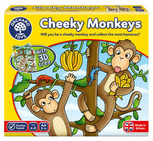 Orchard-Toys-Cheeky-Monkeys-Kids-Educational-Game-Toys-2-4-Players-Age-4