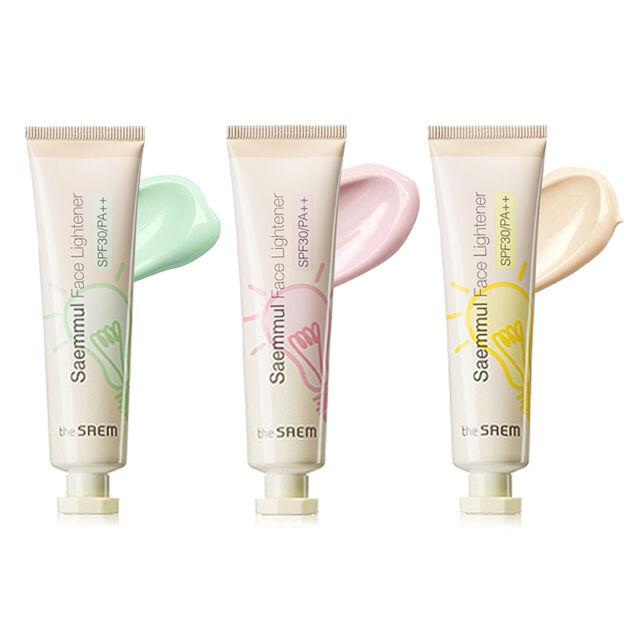 [THE SAEM] Saemmul Face Lightner (SPF30/PA++) 3 Color 30ml / Lightening cream