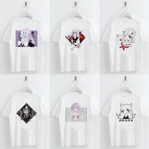 Harajuku-Anime-Girl-Printed-T-shirt-Women-Casual-Summer-Tee-Short-Sleeve-Tops