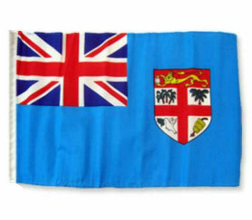 "12x18 12/""x18/"" Fiji Sleeve Flag Boat Car Garden"