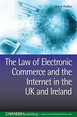 The Law of Electronic Commerce and the Internet in the UK and Ireland-ExLibrary