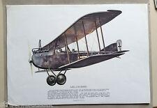 ZWEI BILDER FÜR TEXACO FLUGZEUG AEG J II 1919 UND JUNKERS JU 52 / 3M 1932
