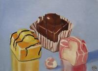 French Fancies : Daily Impressionist Original Oil Painting by Terry  Wylde