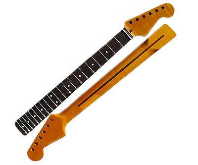 "Guitar Neck for Stratocaster - Rosweood Fretboard 9.5"" Radius"