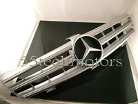 W219 Cls500 Cls600 Cls Grille Grill 3 Fins Amg Silver