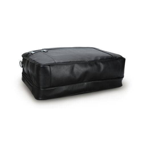 "Echtes Leder Herren Aktentasche 17/"" Laptopschutz Messengertasche Schultertasche"