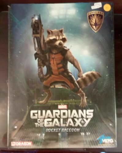 Dragon Guardians of The Galaxy Rocket Raccoon Ravager 1 9 Prepainted Statue  for sale online | eBay