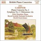 John Gardner: Piano Concerto No. 1; Symphony No. 1; Midsummer Ale (CD, Sep-2007, Naxos (Distributor))