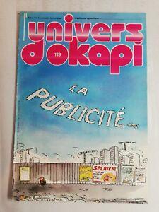 N45 Rivista Universo Okapi N° 119 La Pubblicità, Mr Okapus