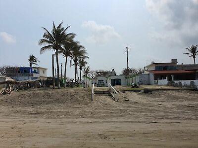OPORTUNIDAD Terreno con playa frente al mar en Antón Lizardo, Veracruz