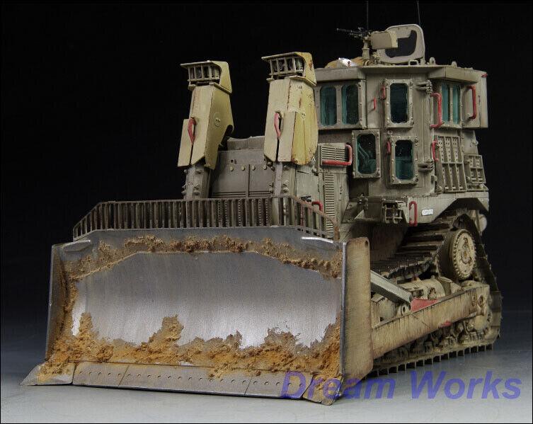 Premiado por la construcción de 1   35 topadoras blindadas Caterpillar d9r Israel pe INT 1