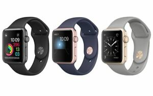 Apple-Watch-Series-2-Aluminum-38mm-Silver-Space-Gray-Rose-Gold-Excellent-A