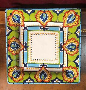 Espana-Bocca-Handcrafted-Square-Dinner-Plate-11-034