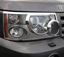 LUCE ANTERIORE CROMATO circonda per Range Rover Sport Lampada l320 accessori Trim NUOVO