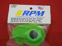 Rpm Transmission Gear Green Dust Cover Traxxas Stampede Rustler Slash Vxl 80524