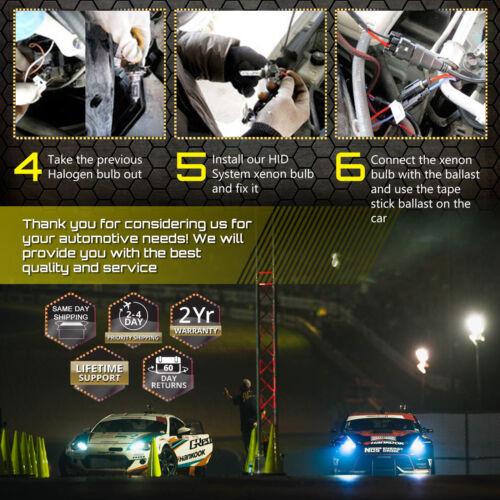 GE Xenon Headlight Fog Light HID Kit 32000LM 35W for Toyota Matrix RAV4