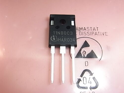 11N80C3 SPA11N80C3 Power Transistor 800V 11A PG-TO220-3 Infineon