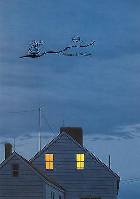 Kunstkarte Postcard Art Quint Buchholz In der Kletterwand