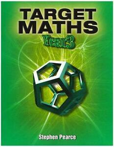 Target-Maths-Year-3-par-Stephen-Pearce-Livre-de-poche-9781902214214-NEUF