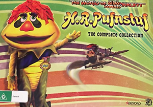 H-R-PUFNSTUF-The-COMPLETE-Collection-3-DVDs-2018-BRAND-NEW-RELEASE-GIFT-BOX-R4