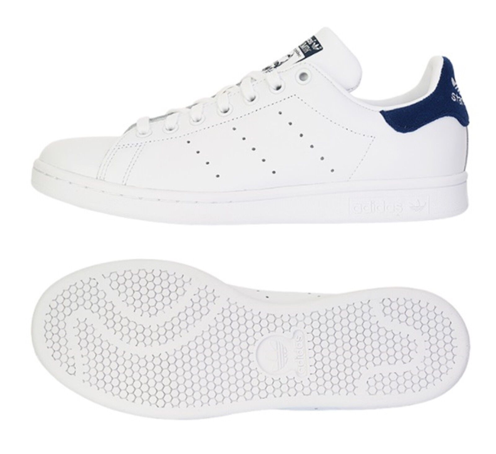 Adidas Men Originals Stan Smith Training shoes White Running GYM Sneakers BZ0483
