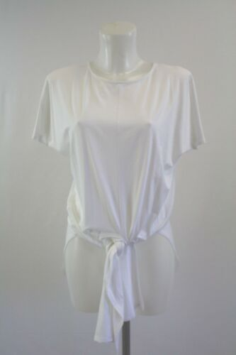 t-shirt size  8 10 12 20 24 New ladies ex George white top