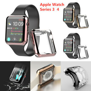 Apple-Watch-Series-3-4-Full-Protective-Case-Screen-Protector-Cover-38-44mm-New