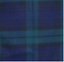 Mens-60s-70s-Retro-Checked-Blackwatch-Tartan-Bell-Bottom-Trousers thumbnail 3