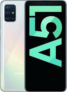 "Smartphone SAMSUNG Galaxy SM-A515F A51 (6.5"") 128 GB White Bianco 1080 x2400"
