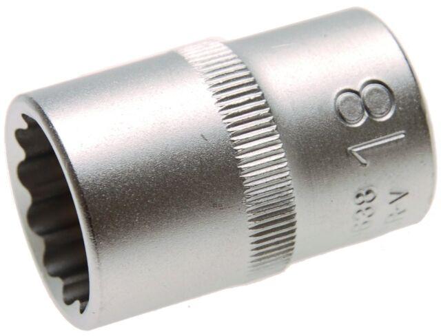 Socket 12-kant, Sw 10 27mm, 1/2, Twelve Edge Nut, Zwölfkantstecknuss