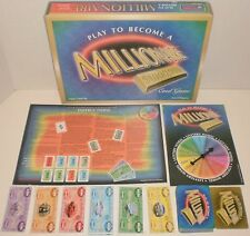 1999 Universal Games PLAY TO BECOME A MILLIONAIRE Card Game - Complete!