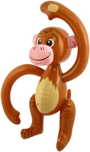 Gonflable Singe Blow Up Stag Kids Party Animal Chimpanzé Singe Jungle Tropical 58 cm